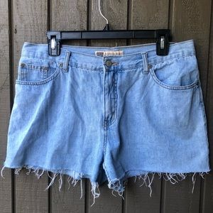 Faded Glory Distressed Denim Shorts